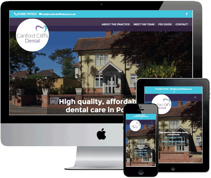 Canford Cliffs Dental by Vivid Websites