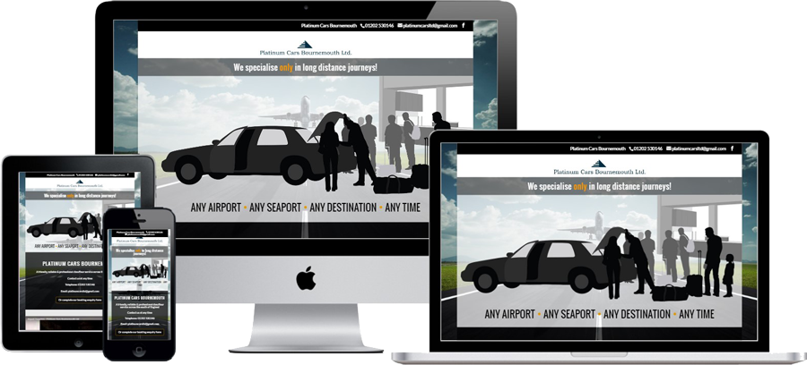 Platinum Cars Bournemouth by Vivid Websites