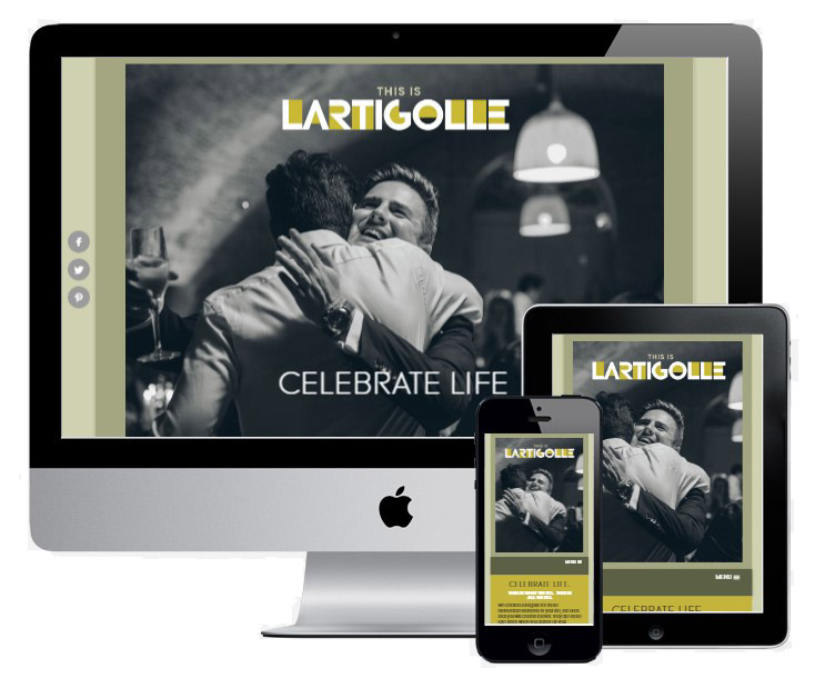 Lartigolle - in collaboration with Vivid Websites