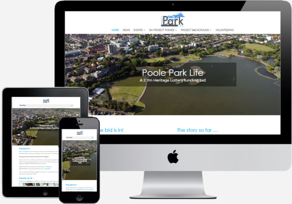 Poole Park Life - by Vivid Websites