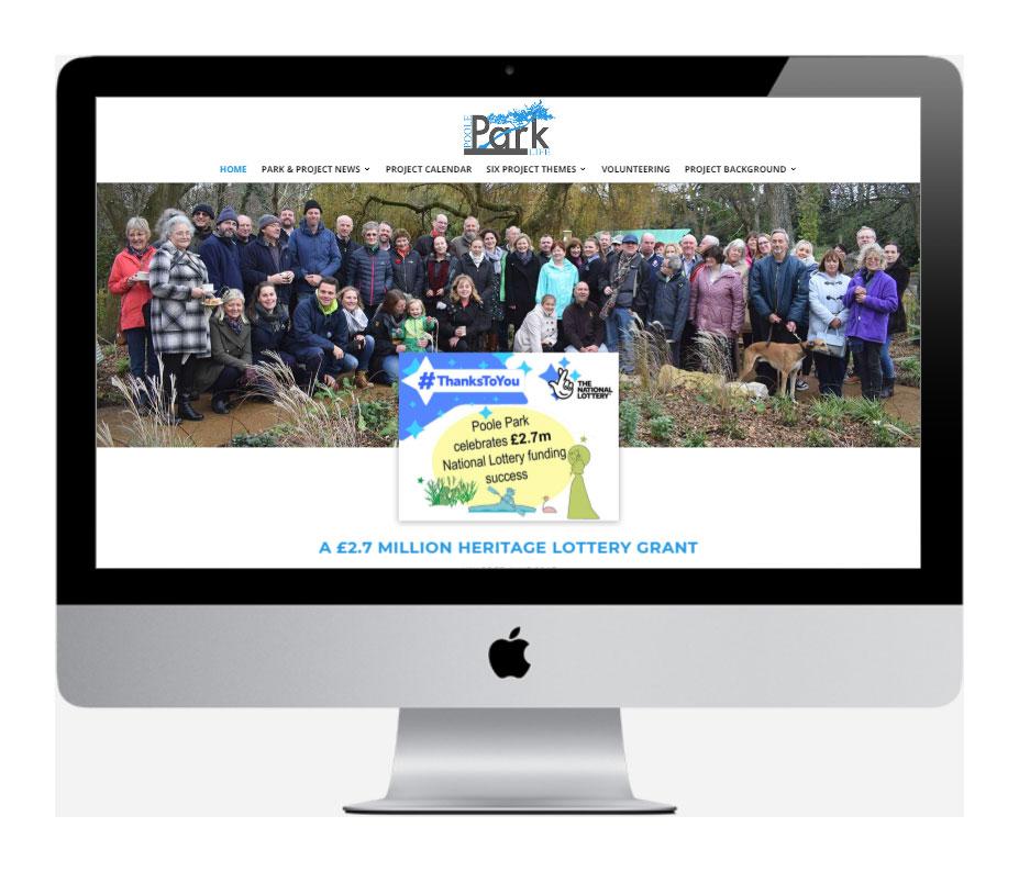 Poole Park Life - by Vivid Websites