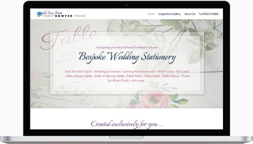 Dorset Wedding Stationery, Bournemouth